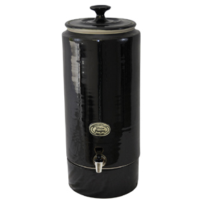 Ultra Chic Pearl Black Ceramic Water Filter